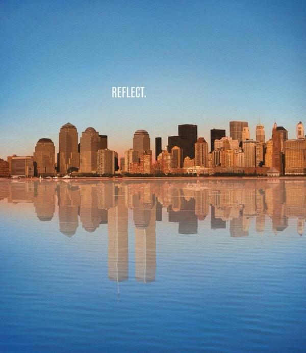Reflect. #NeverForget http://t.co/4ZuzO6taxS