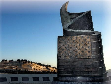 This is Israel's 9/11 Living Memorial outside Jerusalem, the only 9/11 memorial in the Middle East. #911anniversary http://t.co/QE4pZS5KPX