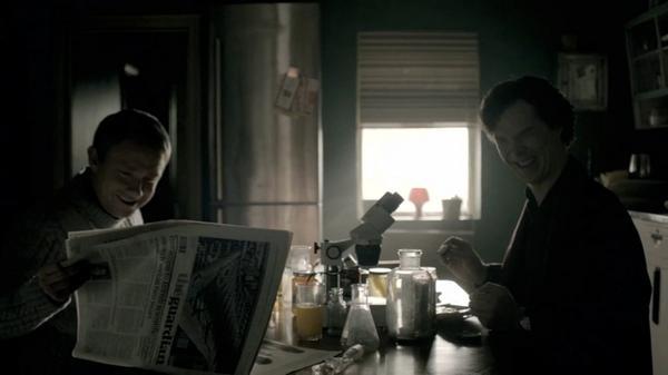 Exclusive Sherlock outtake sees Benedict Cumberbatch swearing at Martin Freeman http://t.co/VQaaMZ1L0f @Sherlockology http://t.co/gLwC4NoSRo