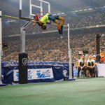 Putting Mutaz Essa Barshim's 2.43 meter high jump in perspective (Via @TheSchmenk)