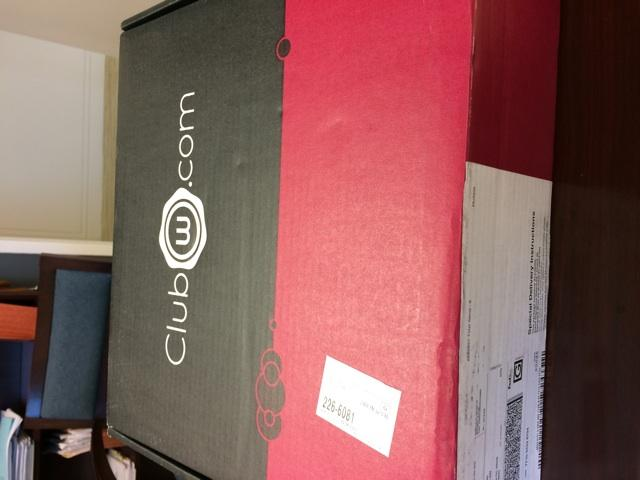 Thanks to @ncindc & @MonicaBPotts for introducing me to @ClubW so now I get boxes of wine at work. http://t.co/T2ENOYMSEw