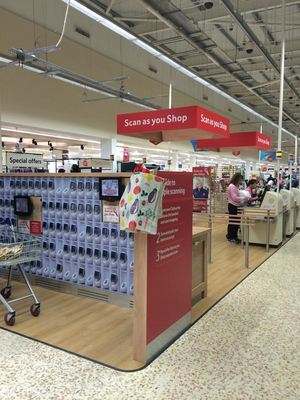 Definitely better than queuing, unpacking trolley then repacking bags. Tesco's Scan as you shop is a hit for me! http://t.co/JRbJf5ns40