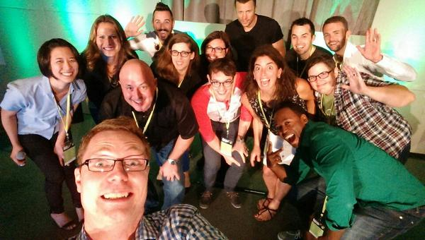 Yay, #Searchlove selfie. Thanks to all of today's speakers! http://t.co/ZZrYzHxQXu