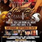 SEPT 20th - #ClubParallel  Orlando,Fl #CollegeKAIOS http://t.co/m2tHnTyISt