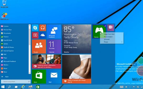 Video: Check Out the New #Windows9 (Threshold) #StartMenu in Action http://t.co/fzUO8KYKsv http://t.co/ExBbUTCOlZ