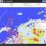 This just in from @nababaha  Please Follow for important updates.   Forecast track of TD #LuisPH http://t.co/FFWDYAjXWr