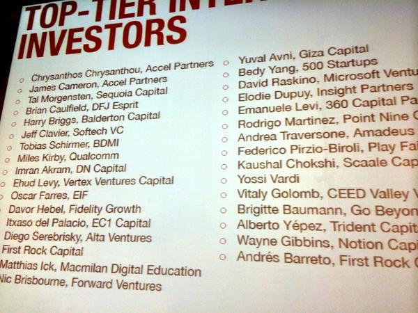#TheSouthSummit reunirá en Madrid a un amplio grupo de inversores internacionales @Spain_StartUp @IEbusiness http://t.co/KuQmFadLxy