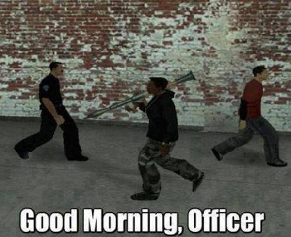 في GTA، الشرطة متسامحة جدا http://t.co/EYNKG23Qlm