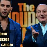 RT @ColorsTV: We all agree to this, don't we? Tune in now!  #TheAnupamKherShow  @AnupamPkher @YUVSTRONG12