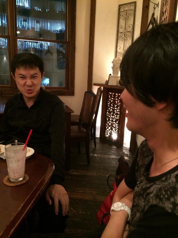 収録後に談笑(?)する杉田さんと細谷さんであった RT @4GamerNews: マフィア梶田の二次元が来い!:第223
