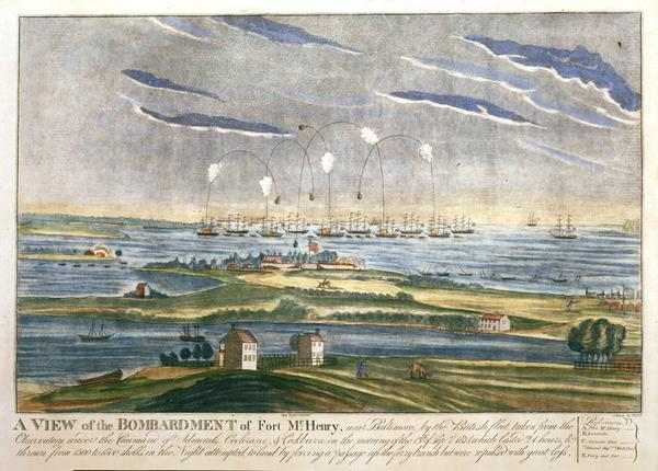 200 years ago today: British attack @FortMcHenryNPS, Star-Spangled Banner is born. Follow #StarSpangled200. http://t.co/KQDs9Kz7zV