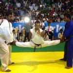 Som, a differently abled participant at the 6th @akshaykumar Kudo (Karate/Judo) competition.:) #KuchBhiHoSaktaHai http://t.co/CsgAvEfCvw