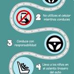 Te dejamos en esta gráfica cinco importantes recomendaciones para prevenir los accidentes de tránsito http://t.co/baI9WbzPQD