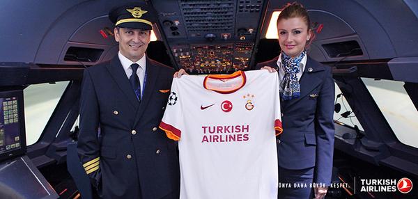 100'den fazla noktaya uçtuğumuz Avrupa'da, Galatasaray'ın Şampiyonlar Ligi forma sponsoru olduk. http://t.co/UCdNYic1TI