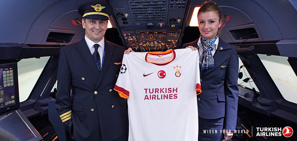 We have become the official kit sponsor of Galatasaray in the Champions League! http://t.co/aHu7BeDYG1