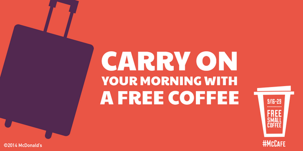 Hang in there – only one more day until #FreeCoffee during breakfast! http://t.co/ulBGzisxXF