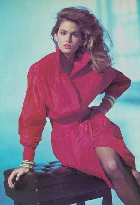 Cindy Crawford @cindycrawford: Fuchsia everything. #FlashbackFriday http://t.co/24ENPPXIs9