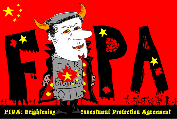 Canada ratifies controversial China treaty http://t.co/Bzrj5NOYPL #FIPA Haunt Us For 31-Yrs http://t.co/P365PaYPaZ http://t.co/VKUF1S4yzq