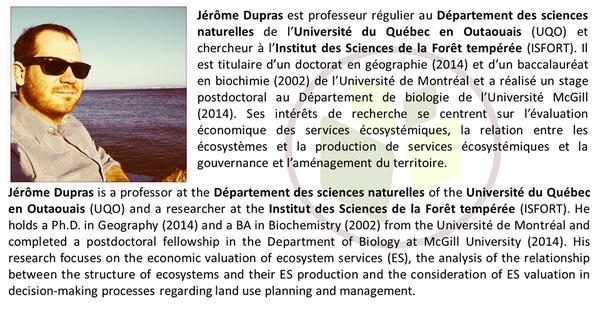 L'ISFORT est fière d'accueillir le nouveau professeur et membre du groupe @LesCFringants Jérôme Dupras @UQO http://t.co/OfAw6mp4i9