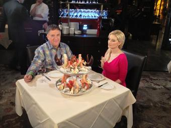 Holly Madison @hollymadison: RT @RealRobertEarl: With the beautiful @hollymadison filming for #BeMyGuest @CookingChannel Vegas steakhouses airs Monday noon ET, 9am PT h…