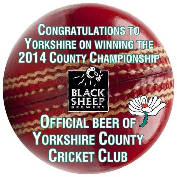 Congrats Yorkshire. County Champions retweet for chance to win signed hat -JB @Yorkshireccc @bebskisheep @YCCCDizzy http://t.co/BVdzjDI5Di