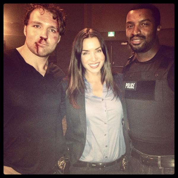 Love working with these two... #LOCKDOWN @therogercross @TheDeanAmbrose  #onset #nightshoots http://t.co/zhinHn7SR1
