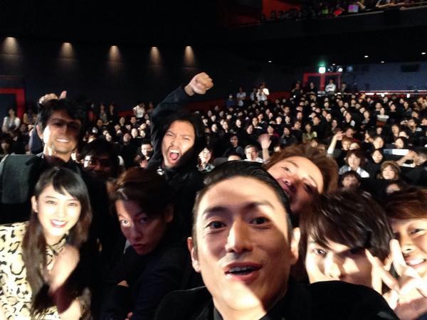 公開初日に#selfie!!!会場より! http://t.co/BIDrWzk4ga