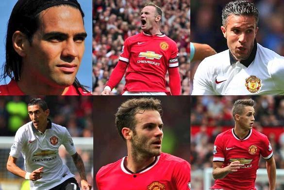 Persie Rooney Rooney Robin Van Persie