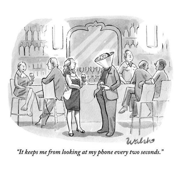 """It keeps me from looking at my phone every two seconds."" http://t.co/TA6X50zCbD"
