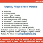 RT @Raheelk: #UrgentlyNeeded Items. Go to http://t.co/beXTDbDtOk, choose the collection point closest to u, Donate.