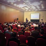 Right now @Fabian_ikono is dropping serious #Magento knowledge to a full house at #mm14ro http://t.co/z4qYeimd3M