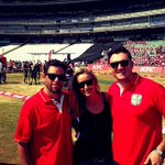 RT @KerryMcGregor: With hubby and @GraemeSmith49 for #KFCminicricket at the Wanderers http://t.co/SSqX6pnpPZ