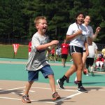 Apex volleyball gives back at the Triangles Miracle League http://t.co/ivUVpRe4oW