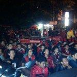 Suasana Nobar #MilanJuve di Bekasi #ForzaMilan Cc: @MilanistiOrId http://t.co/GoLpgtYTOI