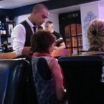 James Vaughan now working at Raaj Indian restaurant in Holmfirth. #htafc http://t.co/mUH8Z6uEoO