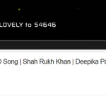 RT @SRKUniverse: #Lovely is now the FASTEST BOLLYWOOD VIDEO to cross 1 million YouTube views mark. Less than 600 mins! #LovelyVideo http://…