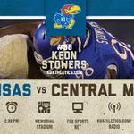 RT @KU_Football: GAMEDAY: Lets get back on track. http://t.co/Yrao5FYWws #rockchalk http://t.co/NGrXUTswCe