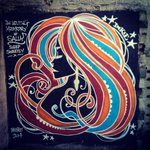 @inkiegraffiti came round and painted this on the side of the pub. It beautiful! #Graffiti #streetart #Belfast #CNB14 http://t.co/fmkwqf27Dl