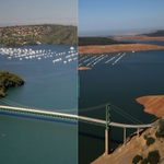 RT @SFGate: California drought drama: Slide the line back and forth to compare these before-and-after pics http://t.co/EbVeB5f0hW http://t.co/EqjtWUJaHn