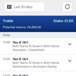A superb @SkyBetFL acca here from @Rubbo88... We were definitely #SkyBettered! Just the £6,859 win from a £1 stake!. http://t.co/g1dQsqcVbs