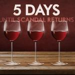 Whos counting down with us? #Scandal #5Days #TGIT http://t.co/m8bcjrKiEA