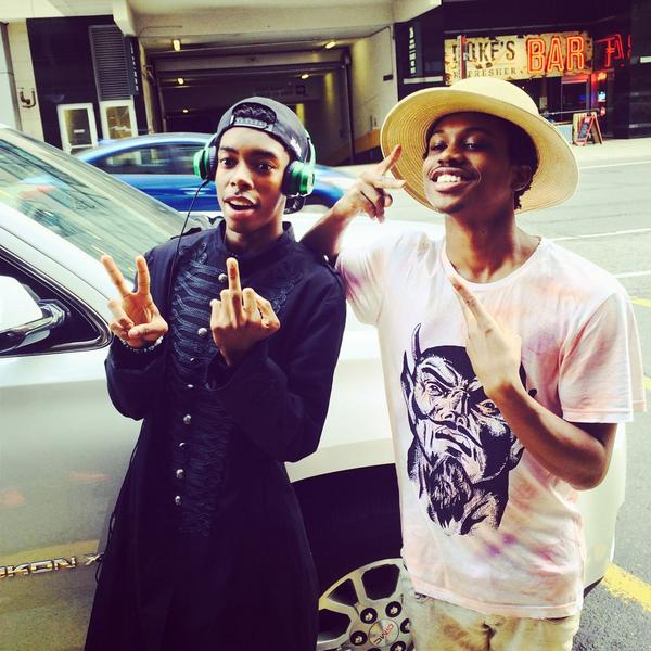 2 of the illest youngest artists in music @BishopNehru n @Raury @Manifesto_TO #Toronto performing tnite! #thefuture http://t.co/0MPkTkezjE