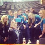 RT @msubillings: @msubillings s Heroes with Vice Chancellor of Student Affairs @DrJoeO & Chancellor Mark Nook #NIOS2014 #selfies http://t.co/siSGM3NWvh