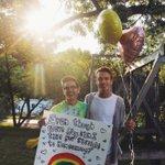 he said yes 👬🌈❤️ http://t.co/n61UGVUuU3