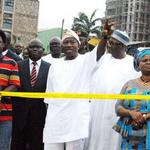 PGEJ visited the TB Joshuas collapsed site b4 PDP South West Rally in Lagos,promising a deep investigation http://t.co/nyp8CMQHMz