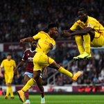 """@ESPNFC: Sterling scores, Balotelli levitates. http://t.co/UOHcD2M7gs"" photobomb."
