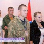 RT @EgoRZemtsoV: Сегодня в центральном ЗАГСе Донецка, бойцы армии ДНР отпраздновали две свадьбы. http://t.co/B9ZfdjWacE