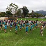 Early morning band practice. You know what that means... Its @calpoly football season! @MustyTheMustang #GoMustangs http://t.co/e3hiyvwvCj