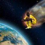 When #Sterling Shoot, #Balotelli Jump. He is Jumping Like Super Mario In The Sky. #YNWA http://t.co/8wLUsoCJ65