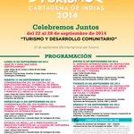 """RT @ZullySalazarF: Hoy lunes comienza la #SemanaDelTurismoCTG, con el lema """"#Turismo y Desarrollo Comunitario"""" Les dejo la programación→ http://t.co/WVhzD4ztTZ"""